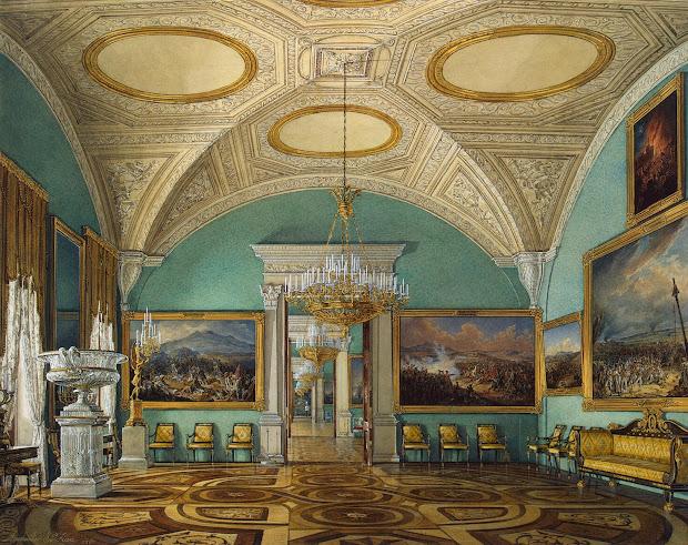 Interiors Of Winter Palace. Room War