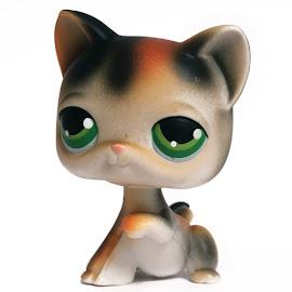 Littlest Pet Shop Purse Cat Shorthair (#27) Pet