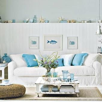 Beautiful Coastal Decorating Accessories Photos - Interior Design ...
