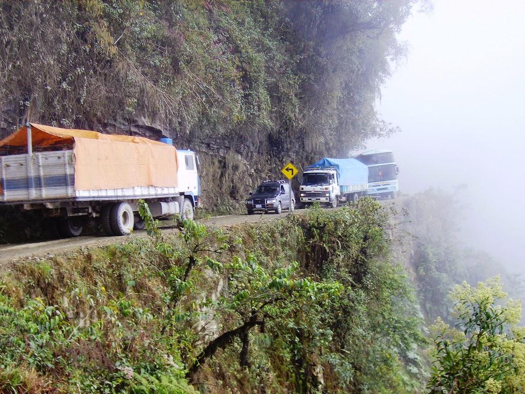 La Ruta de la Muerte en Bolivia