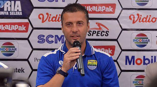 Radovic Pastikan Persib Siap Menang di Laga Pembuka Piala Presiden 2019