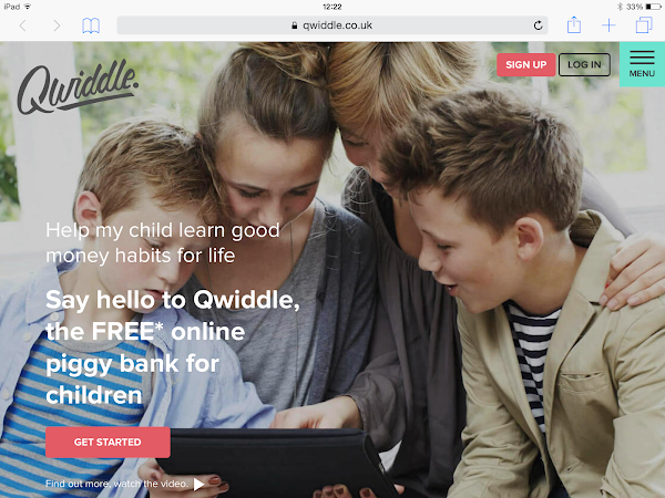 Qwiddle - The Online Piggy Bank For Children