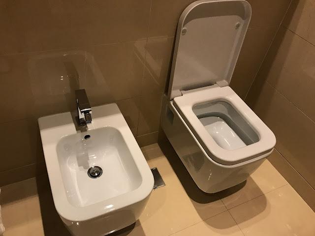 マリオットのトイレ