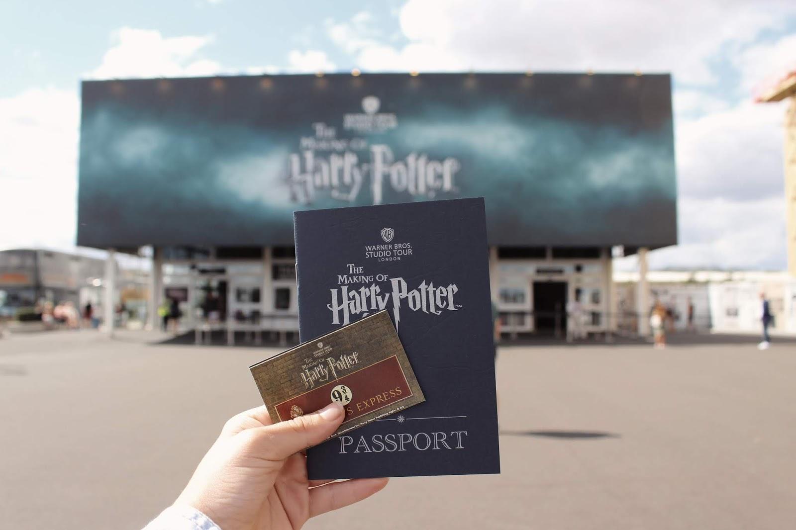 Všetko o Filmových štúdiach Harry Pottera v Londýne ║ Knihomoľ na cestách
