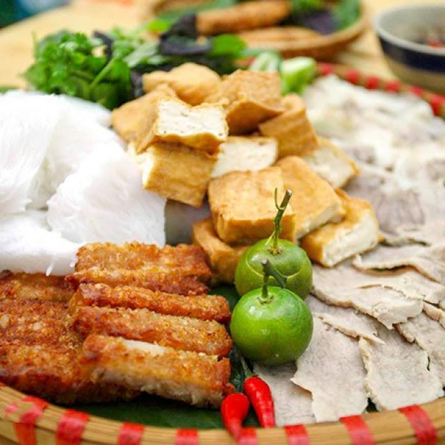 Hanoi Cuisine: Bun Dau Mam Tom 3