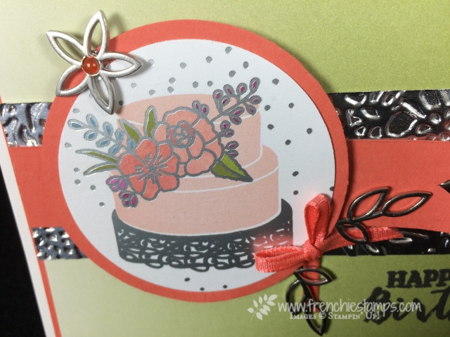 Sweet Soirée designer paper, Birthday Blooms, Birthday Greeting Card, , DIY, Stampin'Up!, Frenchiestamps,