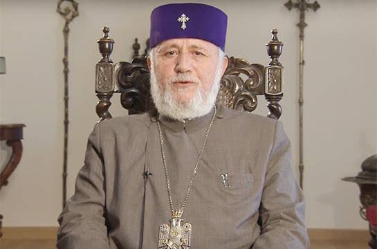 Karekin II llama a detener acciones de protesta