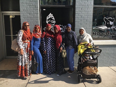 Black Muslim Hijabis on a Roadtrip