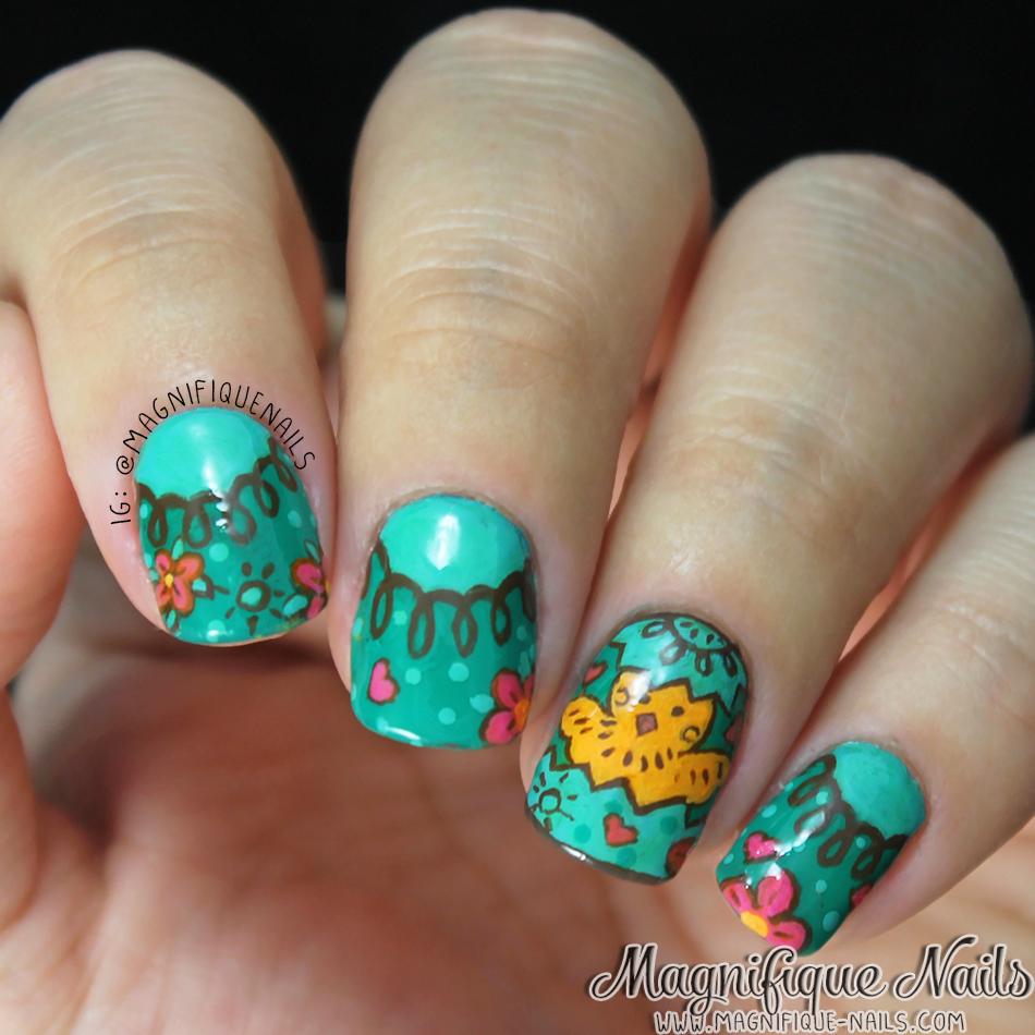 Magically Polished Nail Art Blog April 2014