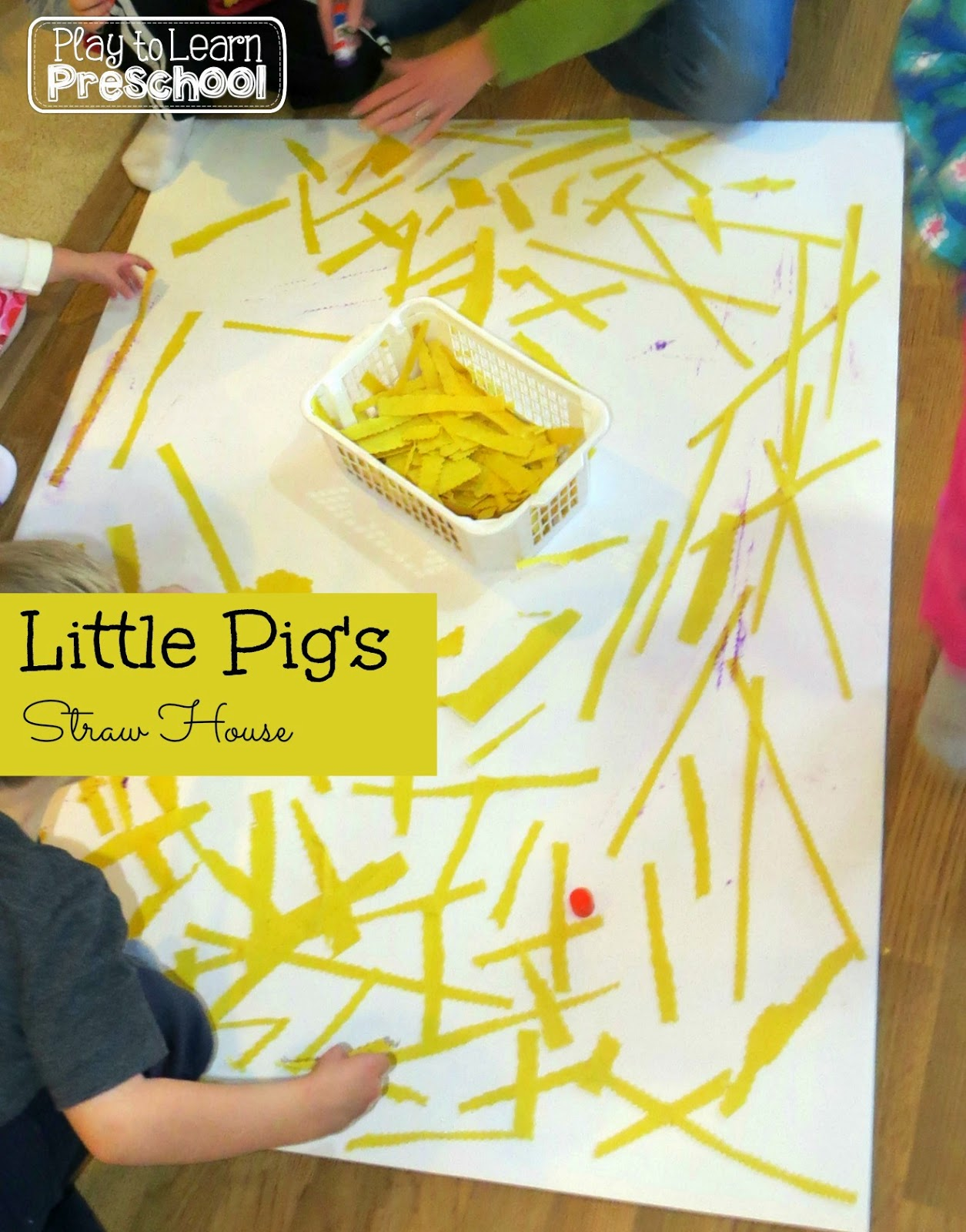 Play To Learn Preschool The Three Little Pigs