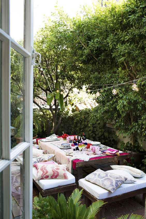 Deco-friendly | Mesas al aire libre