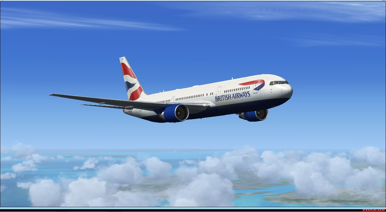 Download British Airways Project Opensky 767 | Waktu