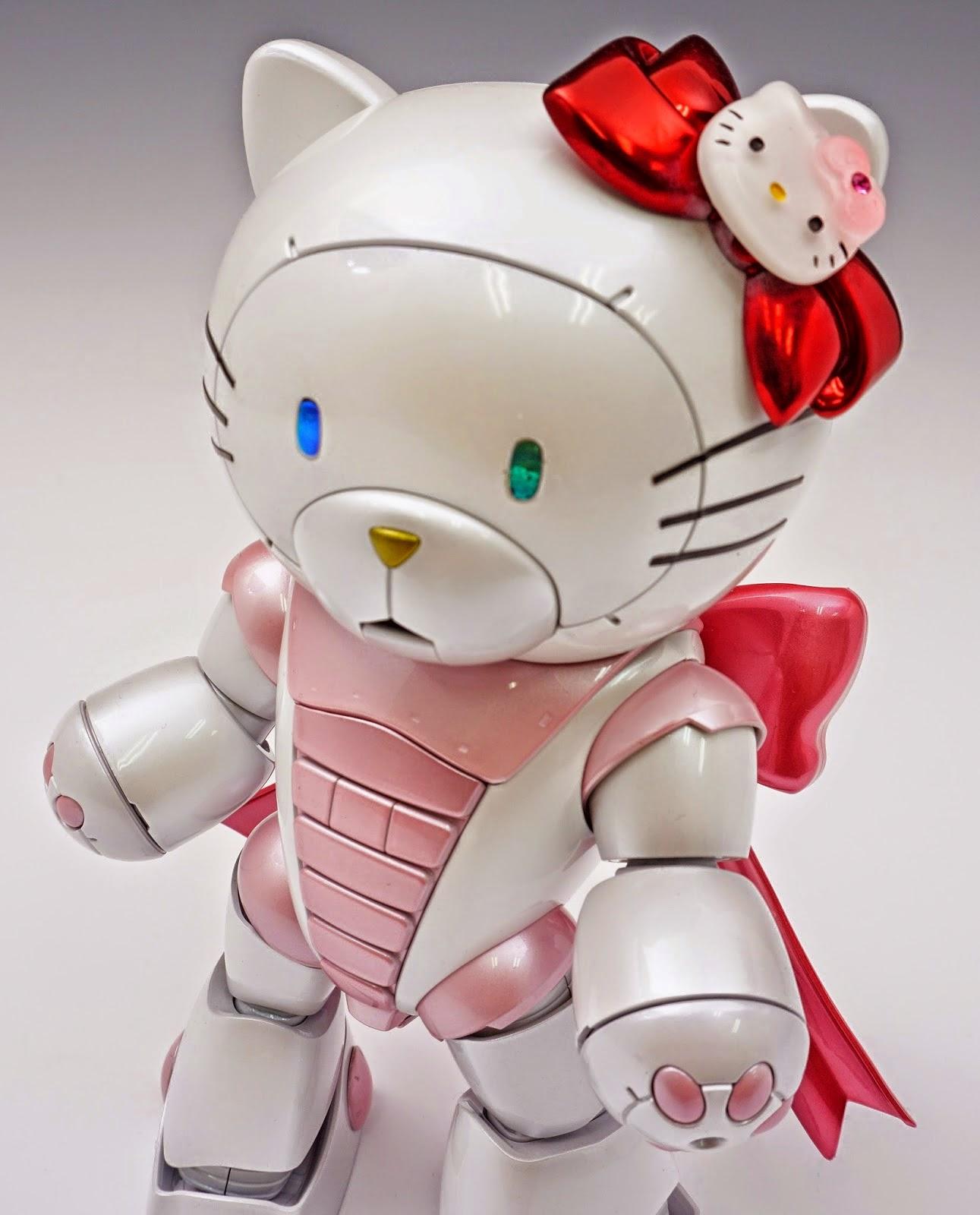 Gundam Family: HGBF 1/144 BearGGuy III [Hello Kitty Ver