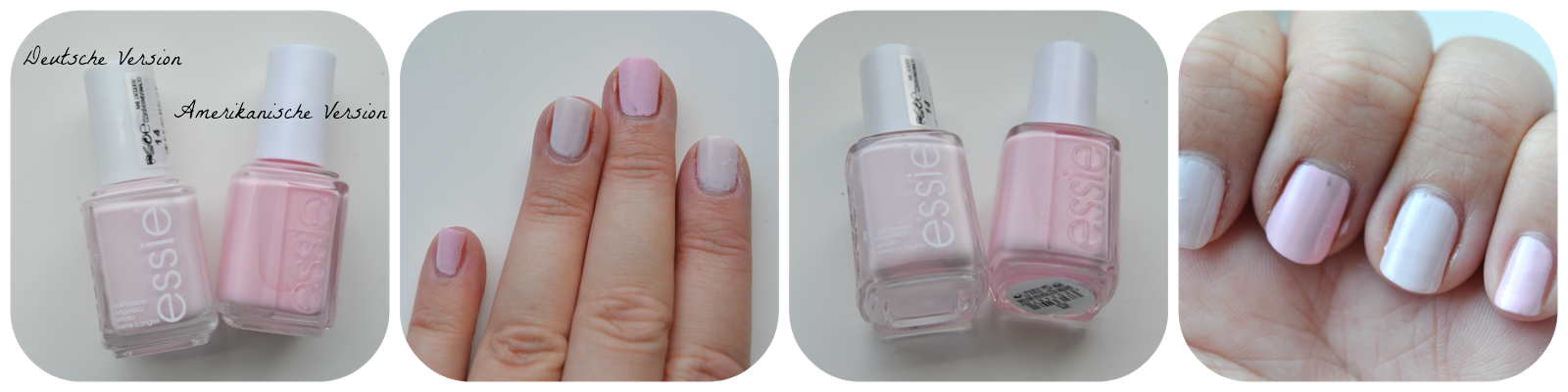 Essie Fiji Swatch US Version vs. Deutsche Version