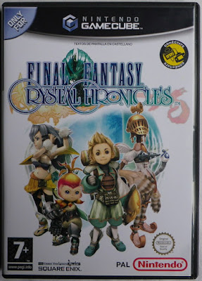 Final Fantasy Crystal Chronicles - Caja plástico delante