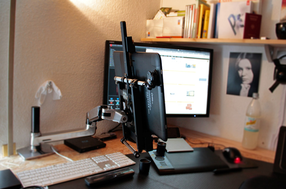 Setting Up The Wacom Cintiq 13hd With Ergotron Lx Arm