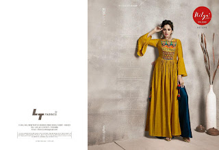5be7ca7417 LT nitya vol 36 nx hit List Party wear kurtis - Diwan fashion