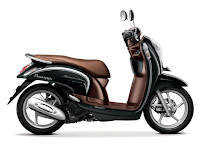 Honda Scoopy eSP Stylish Hitam