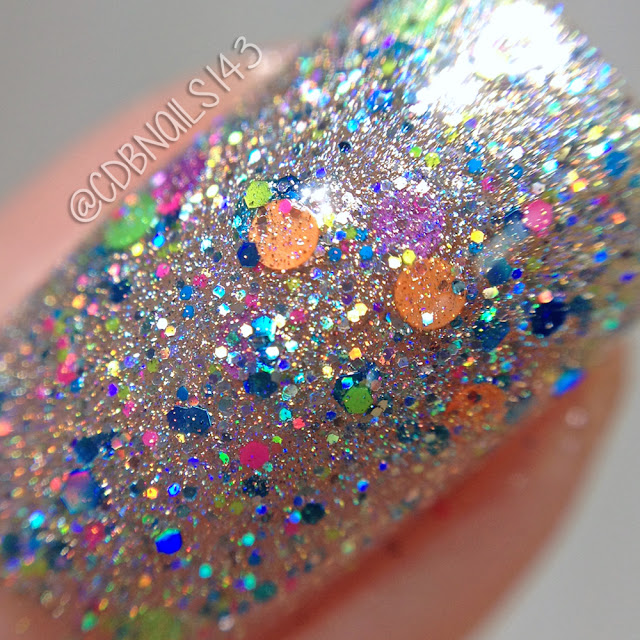 Glam Polish-Sonic Rainboom