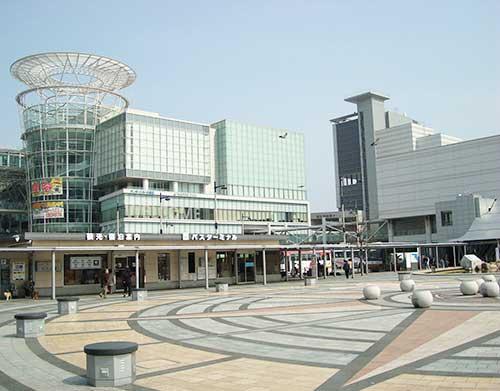 Takamatsu Station, Takamatsu, Shikoku.