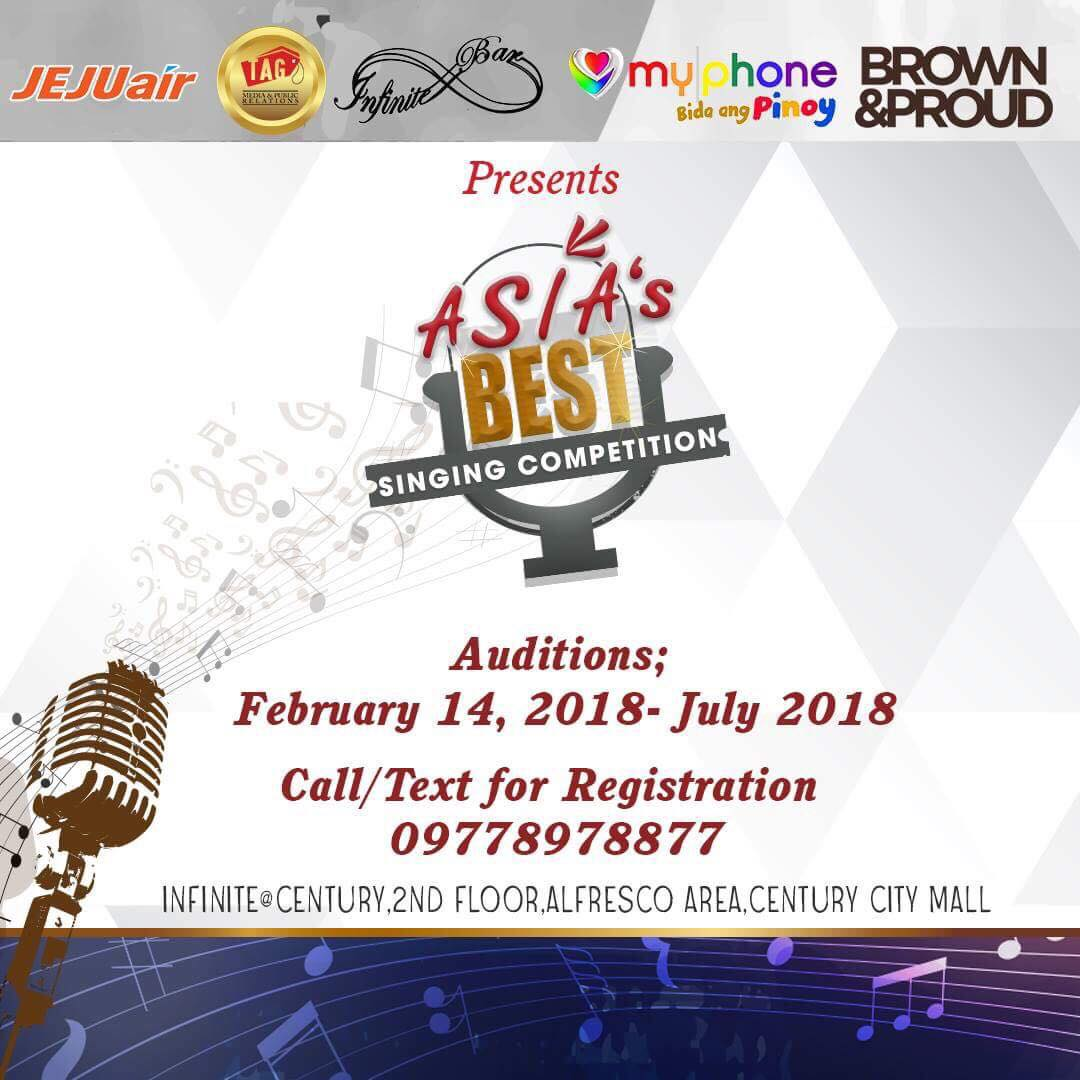 """Asia's Best"""" Singing Competition 2018 Launch 