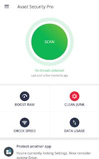 تطبيق Avast Mobile Security Pro للأندرويد,
