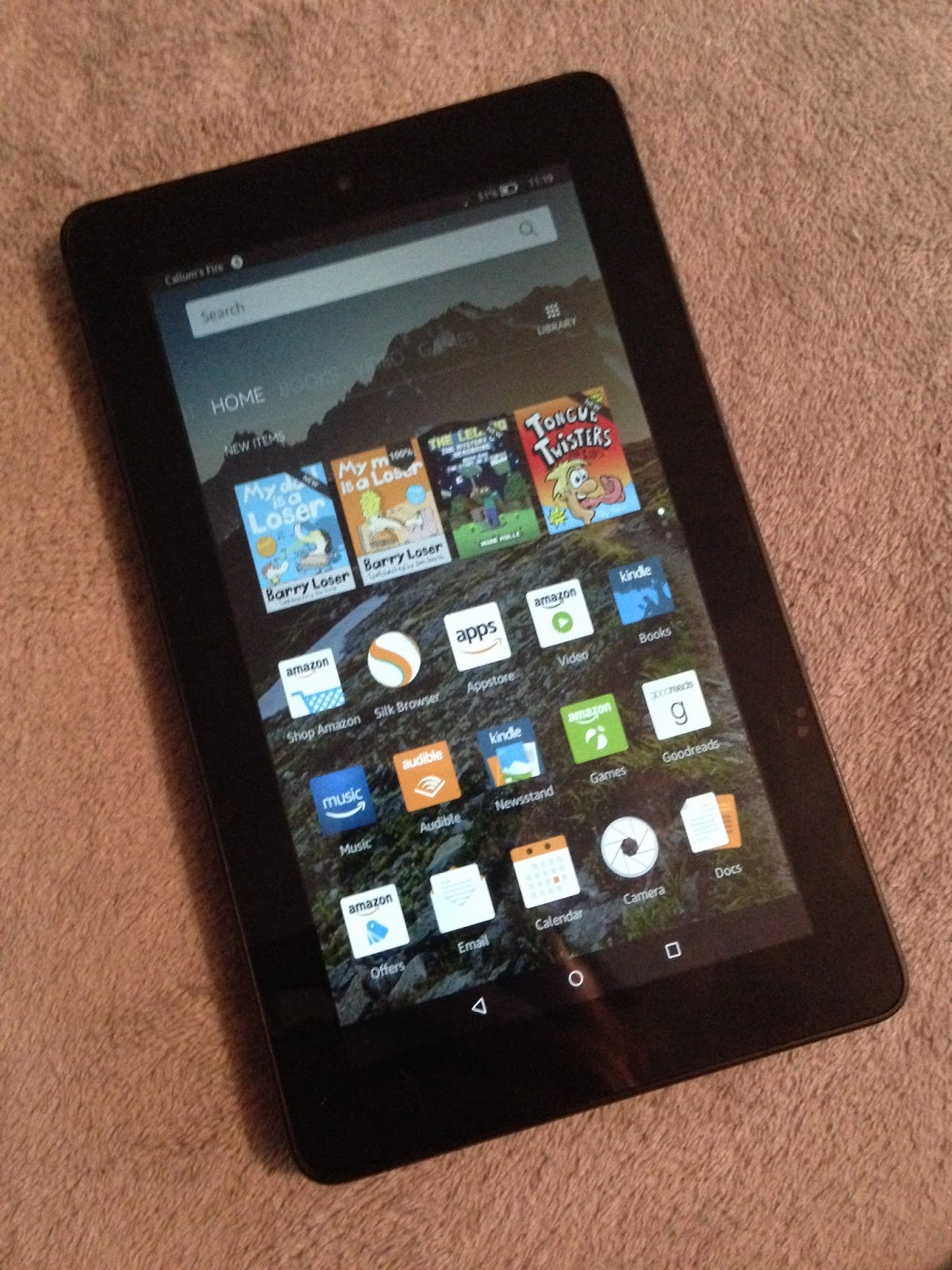 Drivers Update: Amazon Fire 5th Generation Tablet