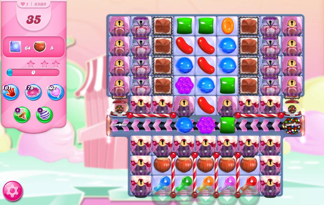 Candy Crush Saga level 6509