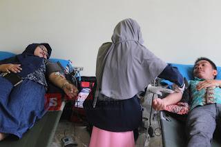 Mahasiswa Dan Dosen Universitas Bojonegoro Ikuti Donor Darah
