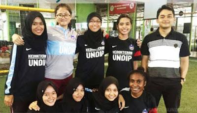 Tim Futsal Putri FK Undip Juara 2 Liga Medika UI
