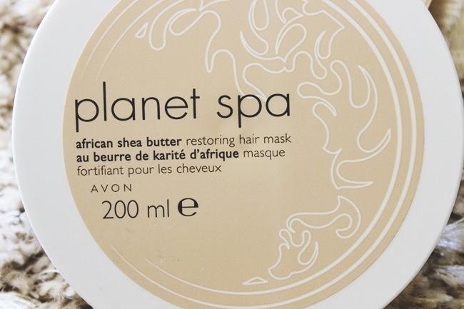 Avon Planet Spa Maska za kosu sa africkim shea puterom