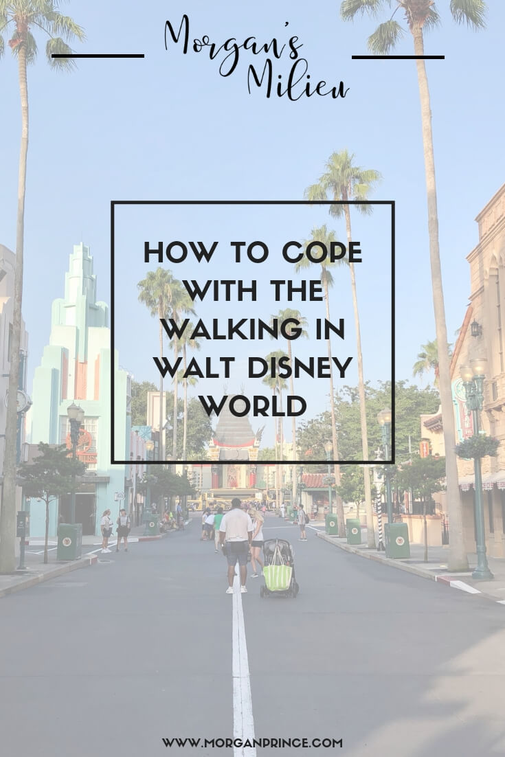 How To Cope With The Walking In Walt Disney World | Looking for ways to ease the pain in your feet? Check out these tips for coping with the walking in Walt Disney World.