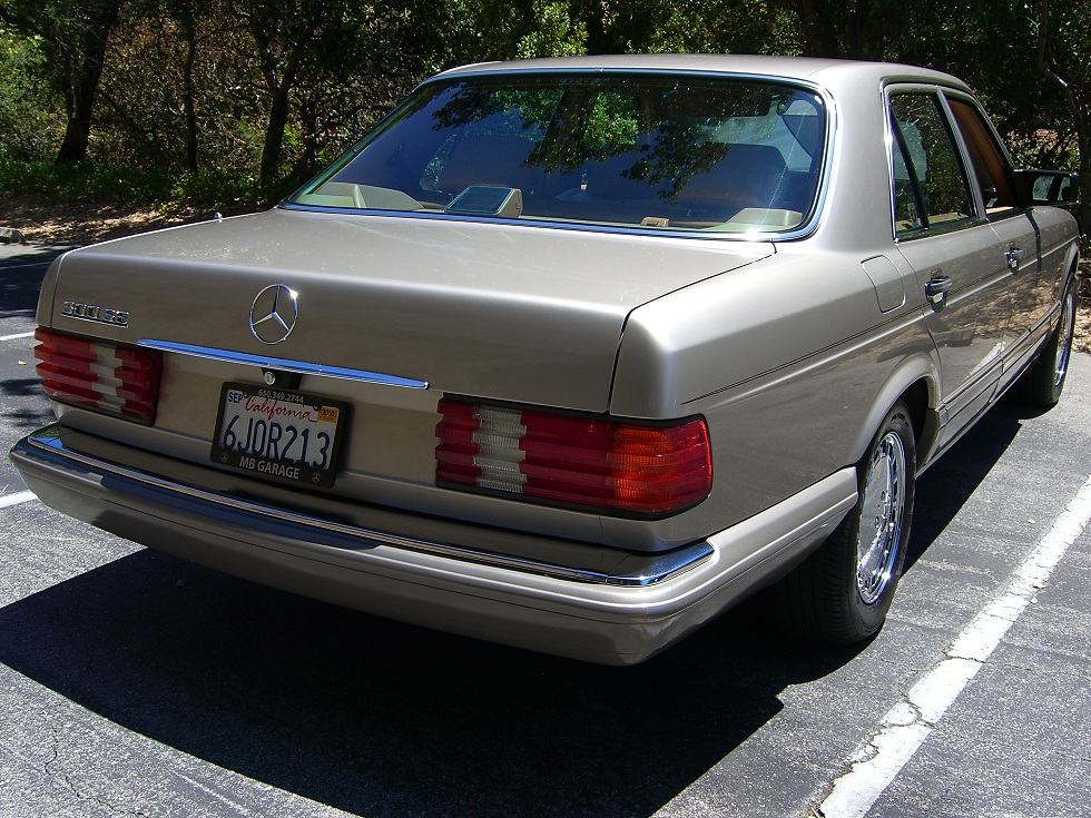 Tamerlane's Thoughts: Mercedes W126 300SE buyers guide