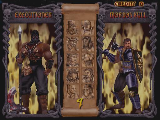 Mace: The Dark Age+arcade+game+portable+select pĺayers