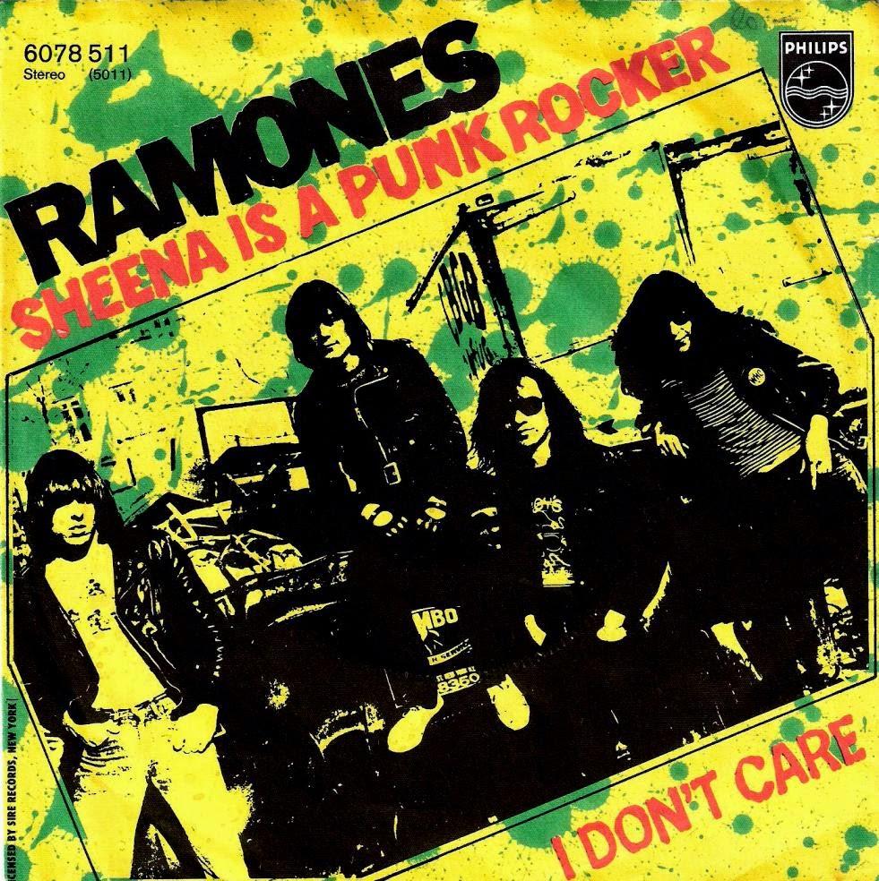 Whydothingshavetochange Ramones Sheena Is A Punk Rocker