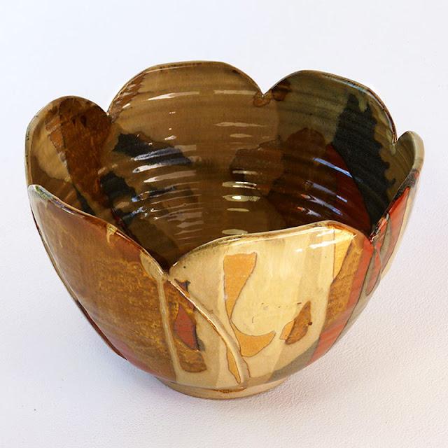 Saladier céramique d'art