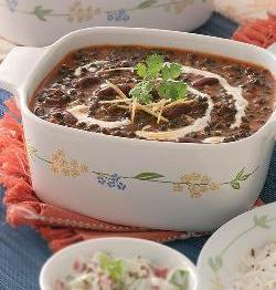 Dal Makhani (Black Lentil and Kidney Beans Soup)