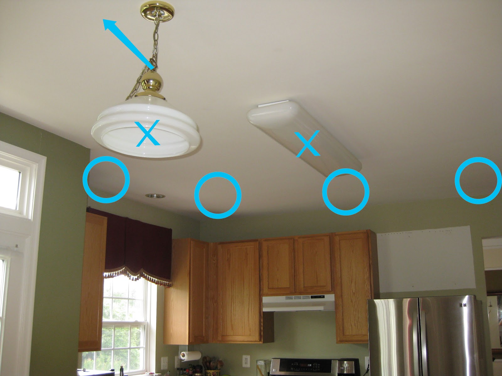 installing recessed lights