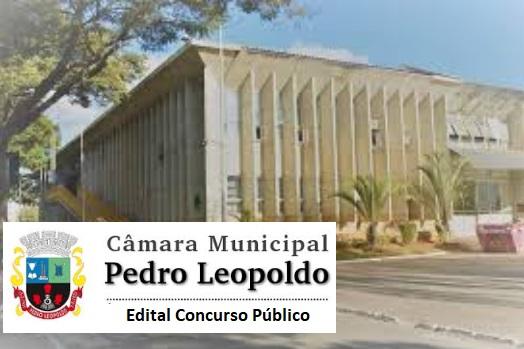 edital Concurso Público Câmara de Pedro Leopoldo 2018