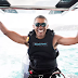 Obama Enjoying His Life After Serving as US President for 8yrs, goes kitesurfing with Richard Branson [photos/Video]