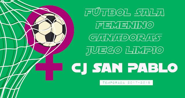 FÚTBOL SALA FEMENINO: CLASIFICACIÓN FINAL JUEGO LIMPIO