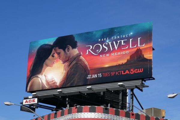 Roswell New Mexico season 1 billboard