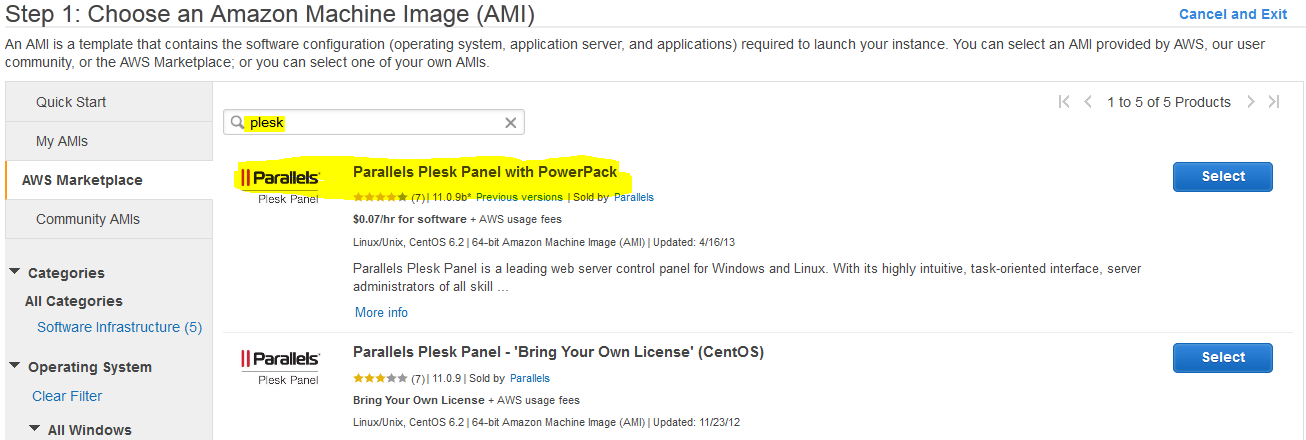 How to install and setup Plesk on Amazon EC2 - Cloud Computing