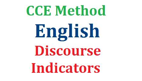 CCE Method English Discourse Features and Indicators | Continuous Comprehensive Evaluation for English Discourse Features for Narrative Story Conversation Description | Discourse Indicators for Drama Script Interview Biography Essay Personal Informal Letter Official Letter News Report Speech Notice Diary Message Poster Invitation and Profile cce-method-english-discourse-features-indicators-download