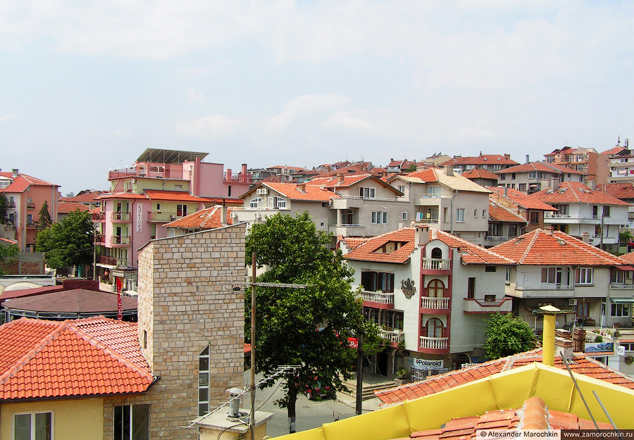 Крыши нового города | The roofs of the new part of Sozopol