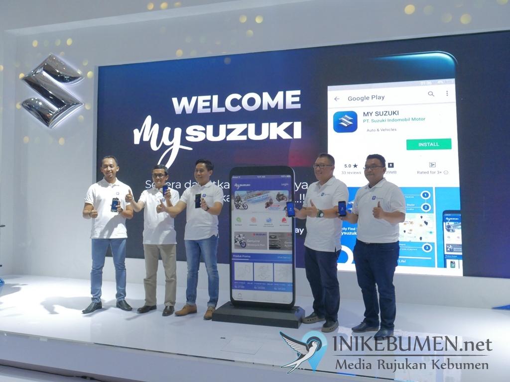 Sempurnakan Layanan Purnajual, Suzuki Luncurkan Aplikasi MySuzuki