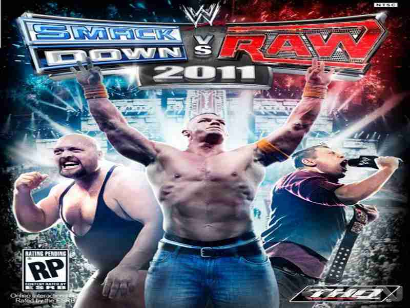 smackdown vs raw 2011 ps2 game free