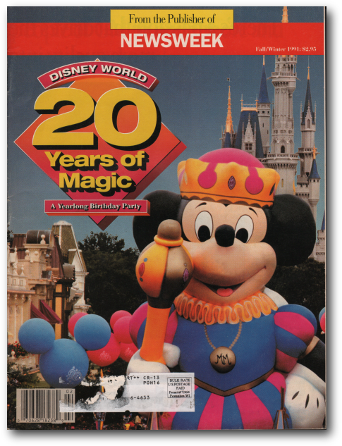 1991 walt disney world map imaginerding maps are a great way to track changes with the resort and to see how walt disney world gumiabroncs Image collections