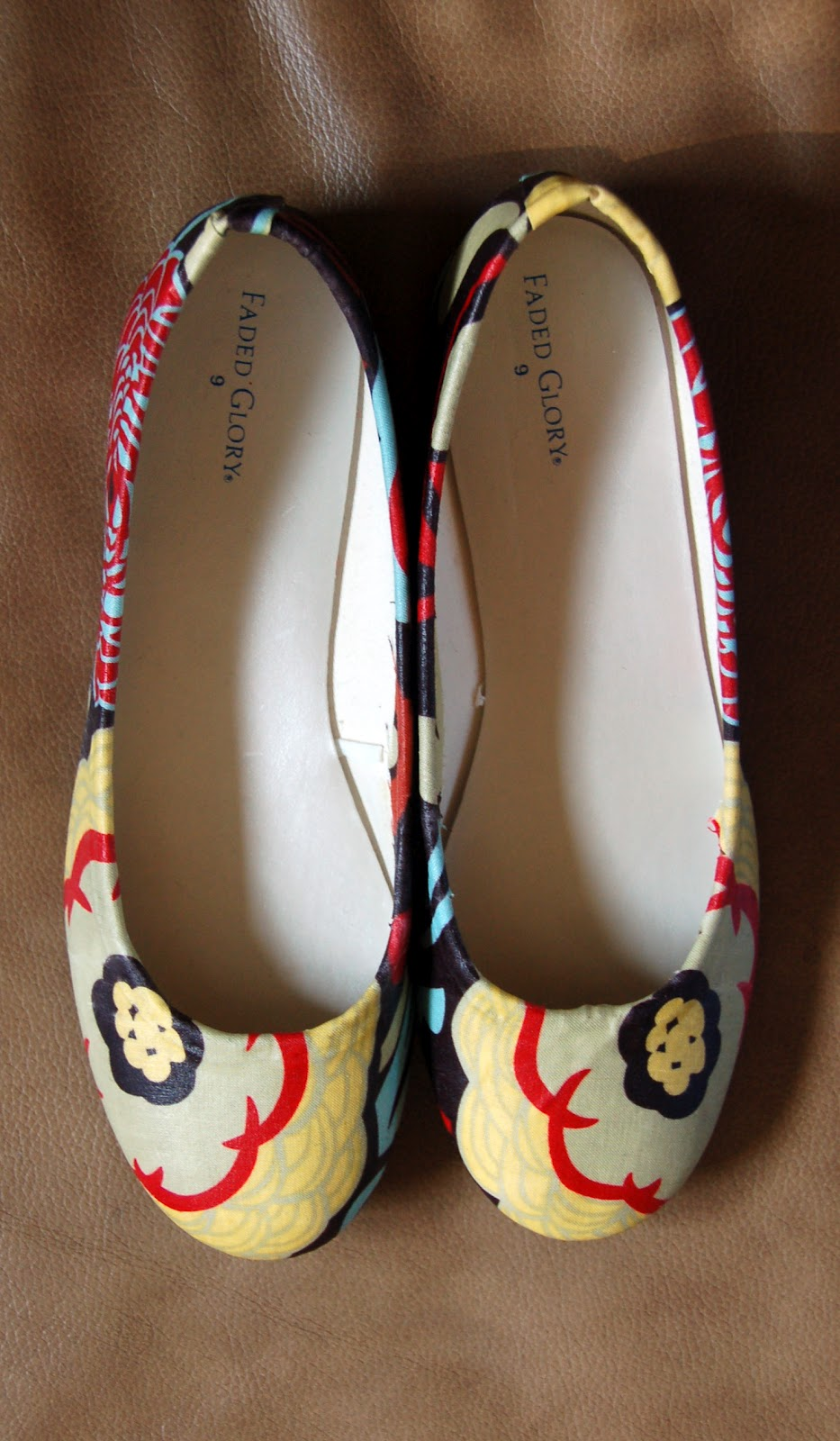 e420a09b42d1c The Almost Perfectionist  Fabric Covered Shoes
