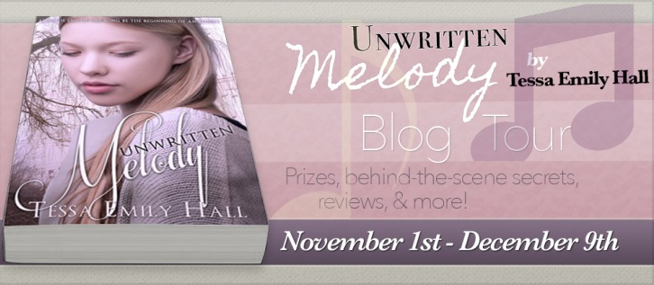 Unwritten Melody blog tour